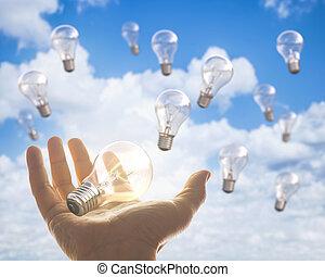照明, 考え
