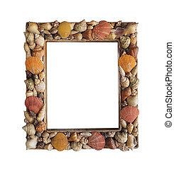 照片框架, 做, 从, 不同, 壳