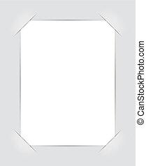 照片框架, 角落