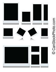 照片框架, 集合