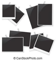照片框架, 集合, 插圖