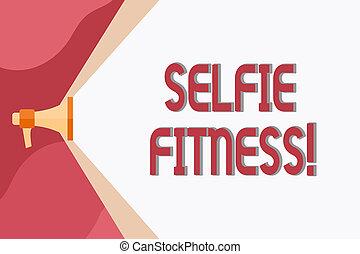 照片, selfie, 通过, 空间, 图画, 作品, 概念性, 扩音器, 体育馆, 本身, 商业, 测验, 手, 卷,...