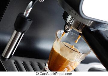 煮咖啡器机器