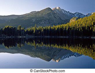 熊湖, 日出