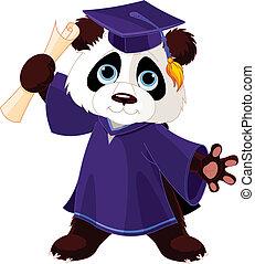 熊貓, 畢業