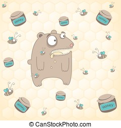 熊, そして, 蜂蜜