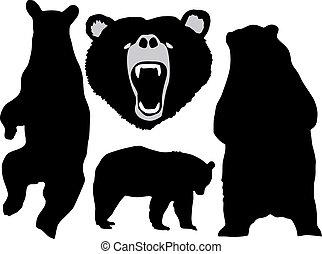 熊, セット