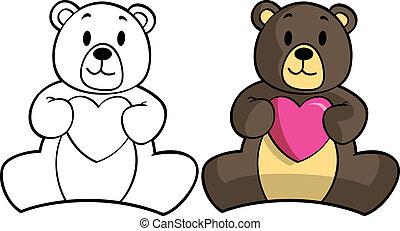 熊, 人形