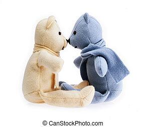 熊, 恋人, テディ