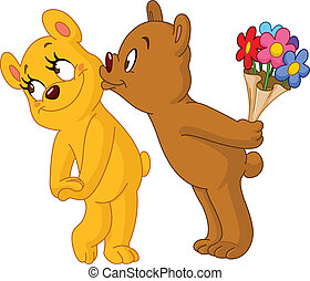 熊, 情事