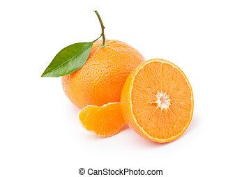 熟した, オレンジ