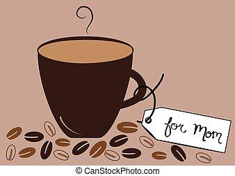 熱い コーヒー, お母さん
