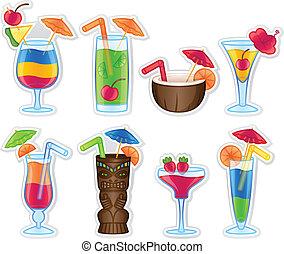 熱帯の飲み物