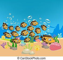 熱帯の魚, 漫画