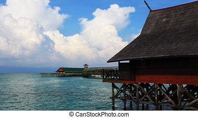 熱帯 島, リゾート