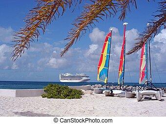熱帯 島, 巡航