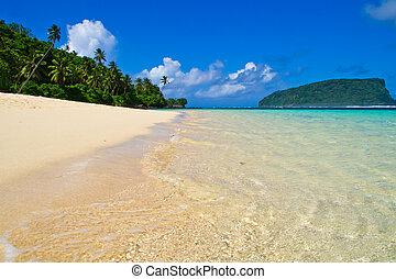 熱帯 島, 浜, パノラマ