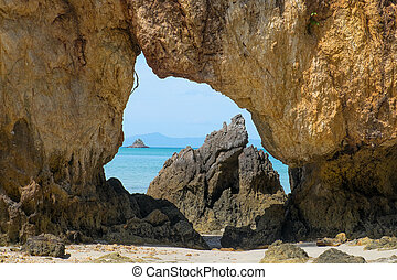 熱帯 島, 風景, 典型的