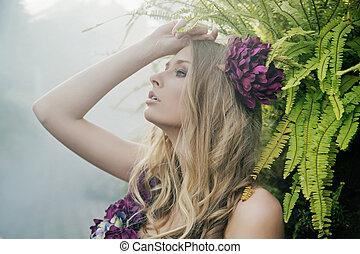 熱帶, 白膚金髮, 森林