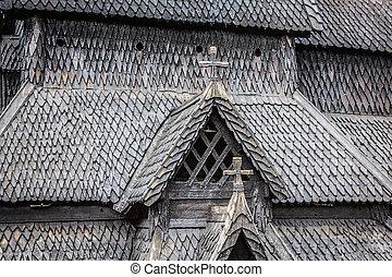 熱心, borgund, 作られた, 使徒, st. 。, 棒, アンドリュー, 1180, church., 1250