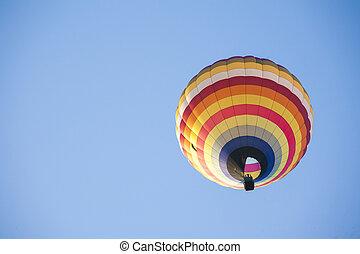 熱的空氣汽球, 上, 天空