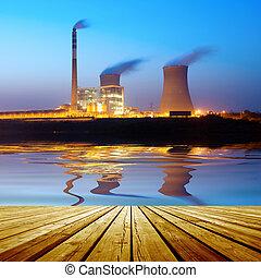 熱, 発電所
