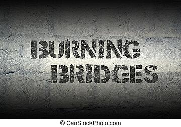 燃えているブリッジ, gr