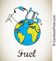 燃料, ベクトル