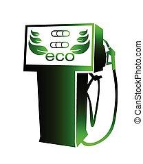 燃料, bio, シンボル, ベクトル
