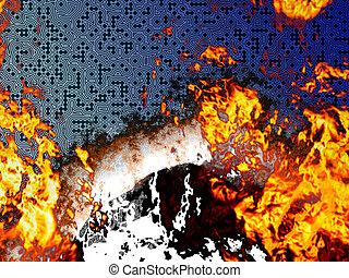 燃焼, サーキットボード