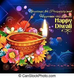 燃焼, diya, 祝祭, ライト, diwali, インド, 背景, 休日, 幸せ