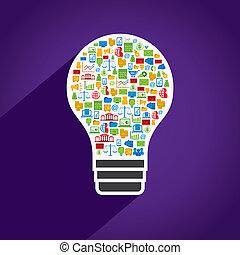 燈泡, 事務, 創造性