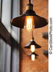 燈泡, 光