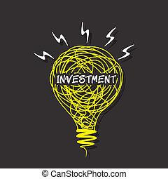 燈泡, 創造性, 詞, 靈感