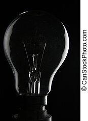 燈泡, 在暗處