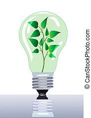 燈, 在, 那, grows, 分支, 由于, 表
