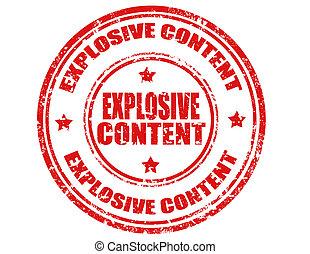 爆発物, content-stamp