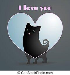 爱, cat.