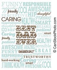 父の日, カード