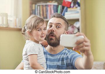 父親和女儿