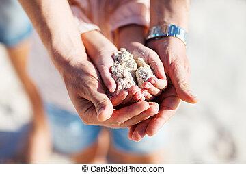 父, 砂, 保有物, 娘
