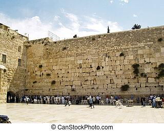 牆, 在, 耶路撒冷