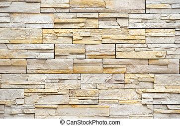 牆, 石 紋理