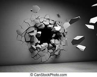 牆, 破壞