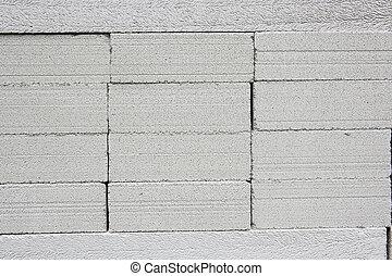 牆, 磚, 現代, 灰色