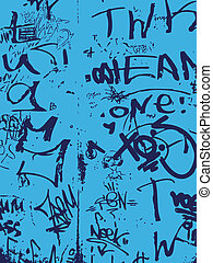 牆, graffiti