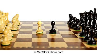 片斷, 板, 國際象棋
