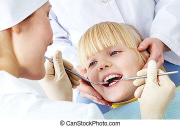 牙齒的檢查