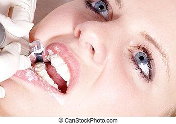牙齒的處理
