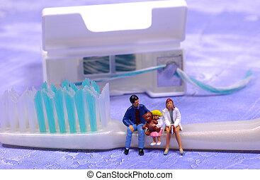 牙齒, 家庭